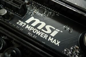 MSI Z87 MPOWER MAXでOCテスト