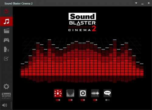 sound blaster cinema2