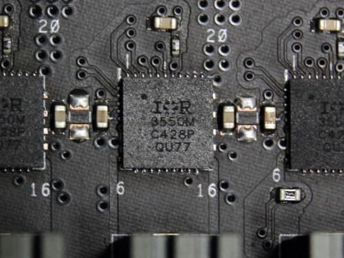 IR社のDriver MOSFET 「IR3550」