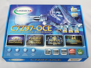 The 製品チェック! ~ Supermicroのコンシューマー向けIntel Z97 マザーボード C7Z97-OCE, C7Z97-M